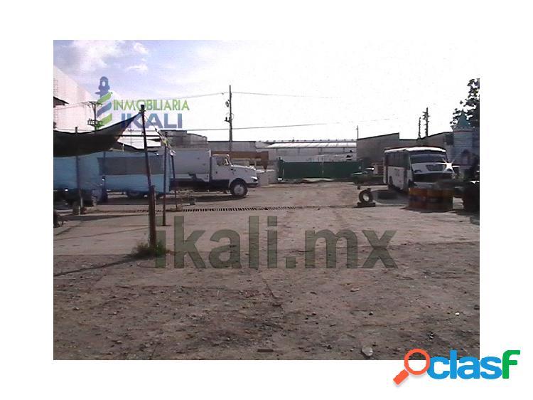 Vendo Terreno comercial 2600 m² frente liverpool Tuxpan