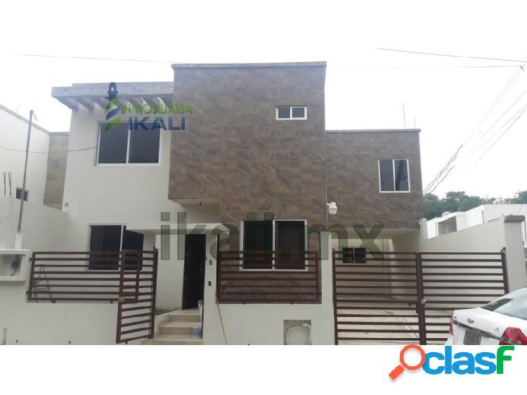Vendo casa 3 recamaras Col. Campestre Alborada Tuxpan