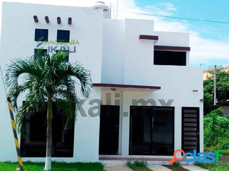 Vendo casa de 3 recamaras colonia vivah Tuxpan Veracruz,