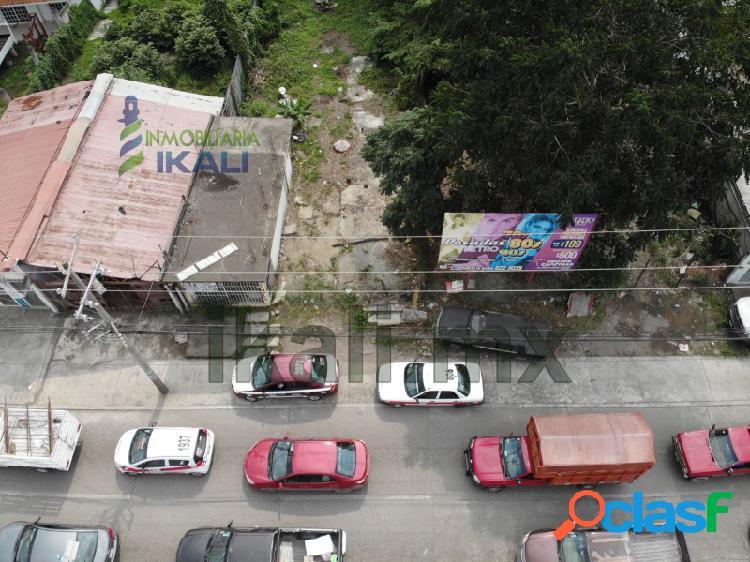 Vendo terreno de 315 m² en colonia Floresta de Poza Rica
