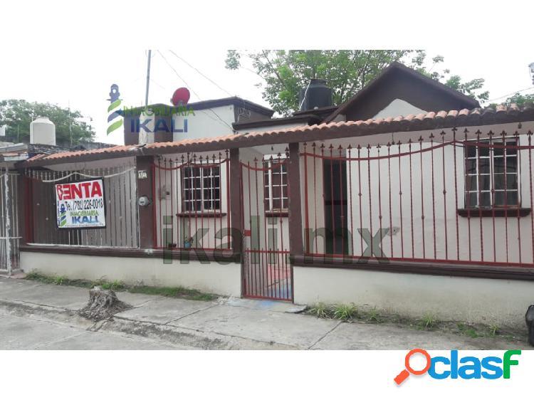 Venta Casa 2 Recamaras un piso Poza Rica Veracruz, La