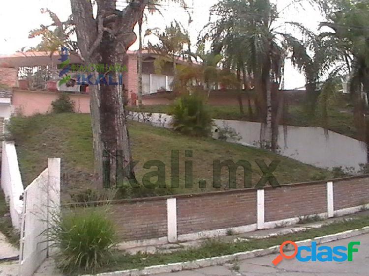Venta Casa vista espectacular 3 rec. Col Jardines Tuxpan