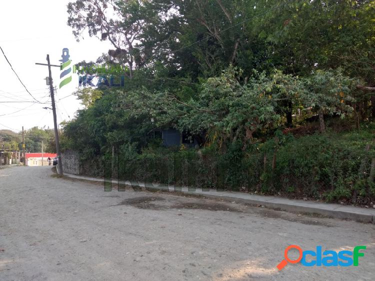 Venta Terreno 400 m² Col. Dante Delgado Tuxpan Veracruz.,