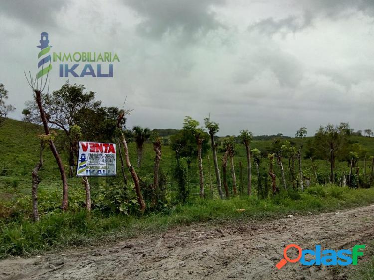 Venta Terreno 7.2 hectáreas detrás walmart Tuxpan Veracruz