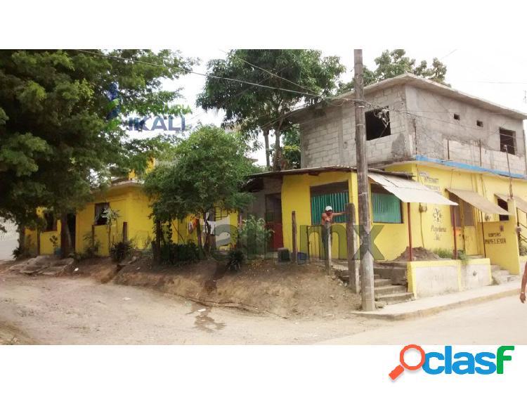 Venta de casa con local comercial en tuxpan ver. col.