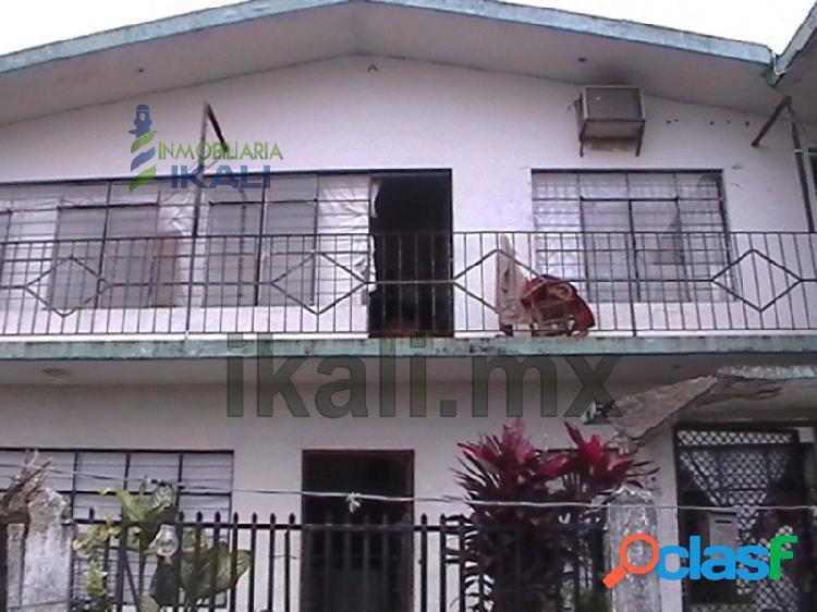 Venta de casa en Tuxpan Ver, en zona centro 5 rec., Tuxpan