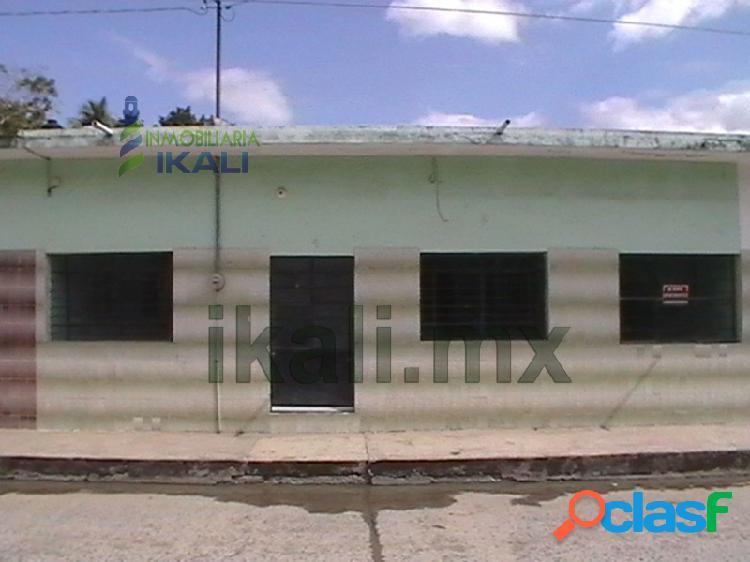 Venta de casas en Tuxpan Veracruz de 2 Rec. Col. Azteca 2