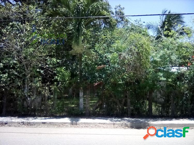 Venta terreno 400 m² en esquina Banderas Tuxpan Veracruz,