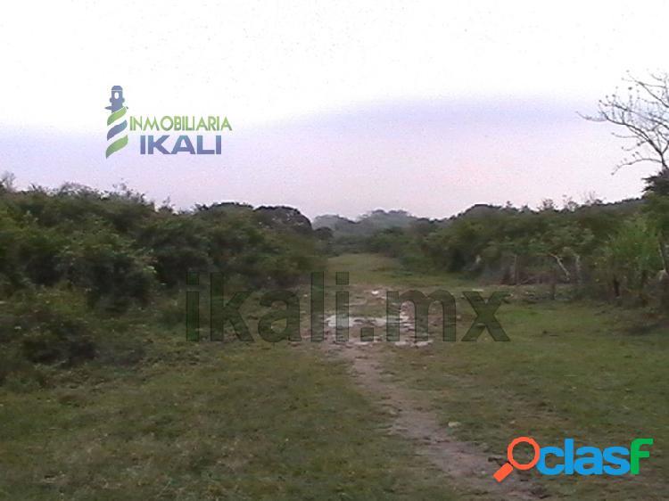 Venta terreno 7700 m² col. federico blanco Tuxpan Veracruz,