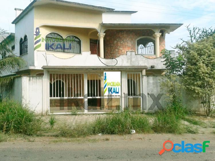 casa a la venta en tuxpan ver, 4 recamaras en Juana Moza,