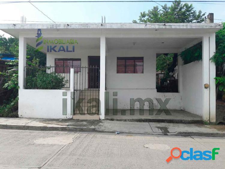 casa en venta Tuxpan Veracruz 2 rec. col. Vicente Guerrero,
