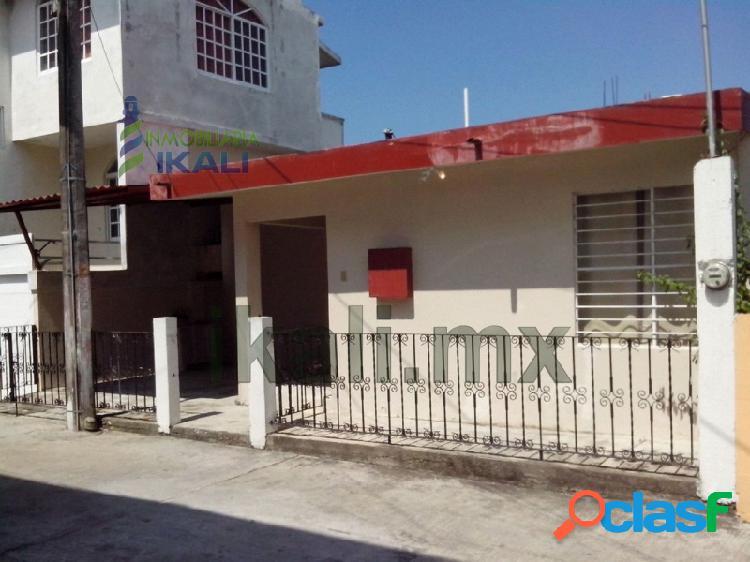 renta casa 3 recamaras zona centro tuxpan veracruz, Tuxpan
