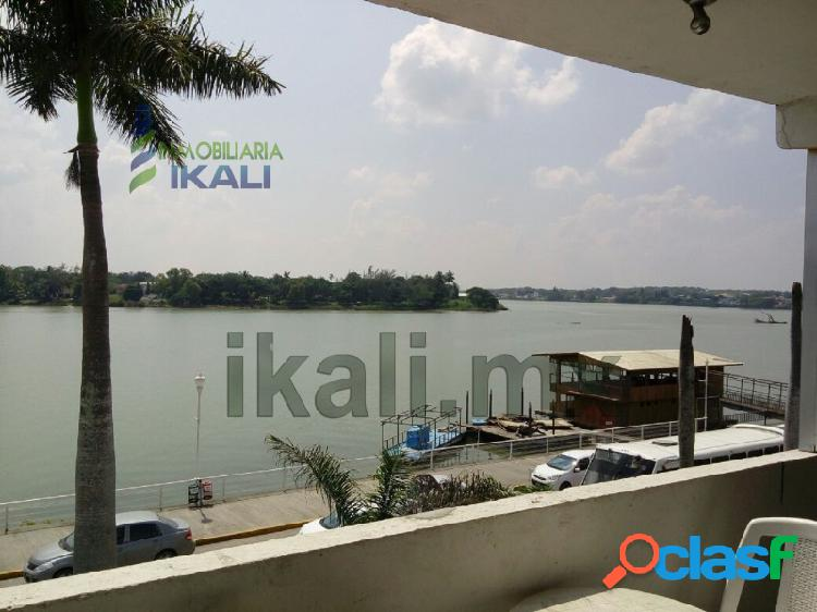 renta oficina céntrica frente al río tuxpan Veracruz,
