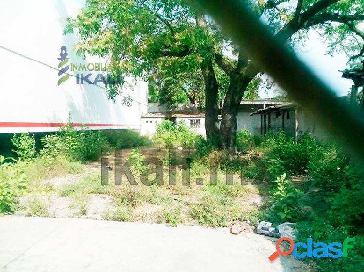 terreno comercial en renta, tuxpan veracruz calle 15 de