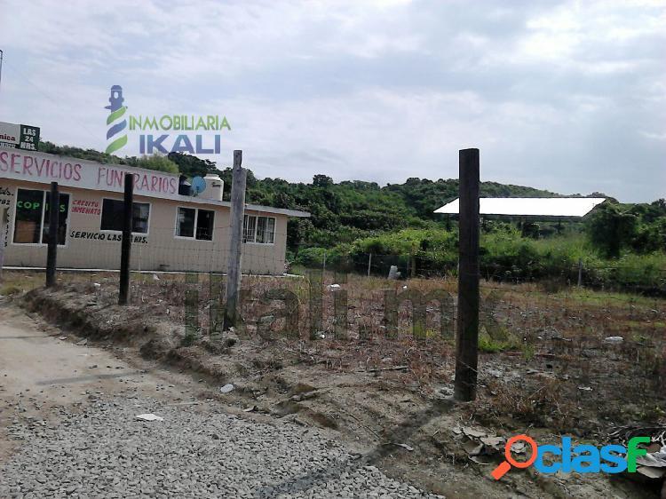 terreno comercial en venta en colonia Salvador Allende Poza
