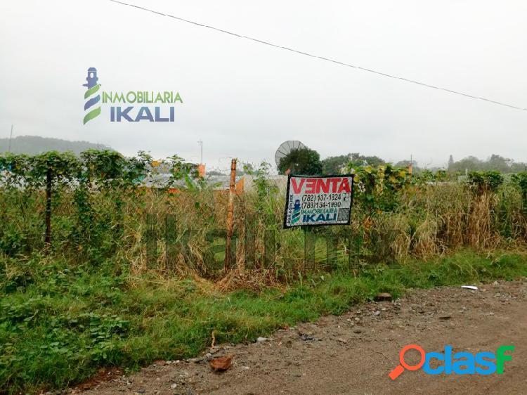 terreno en venta 865.50 m² col. petrolera Poza Rica