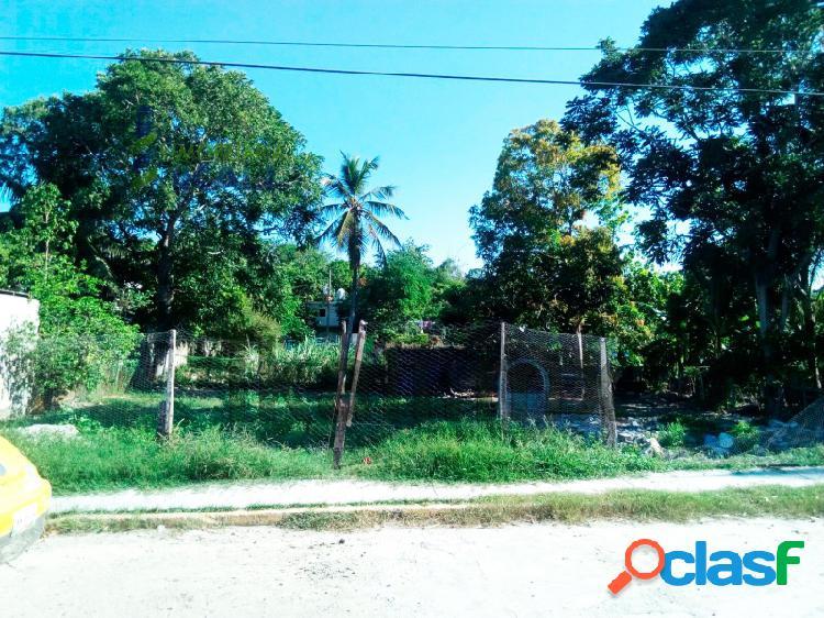 terreno en venta colonia Ochoa de Tuxpan Veracruz 750 m²,
