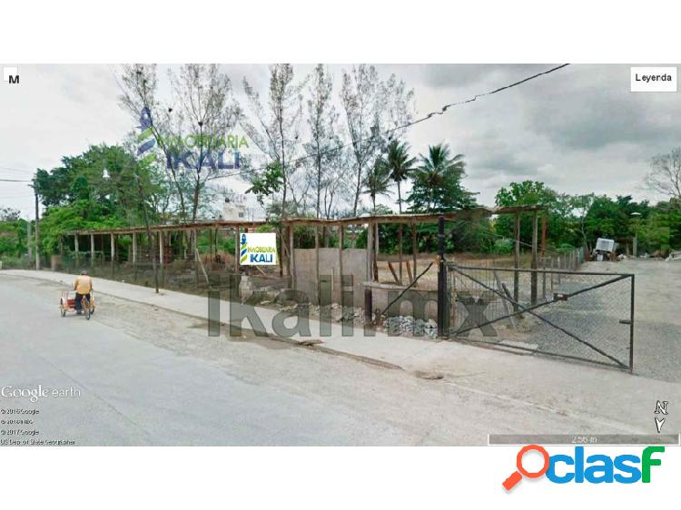 terreno renta 1400 m² detras de infonavit tenechaco Tuxpan
