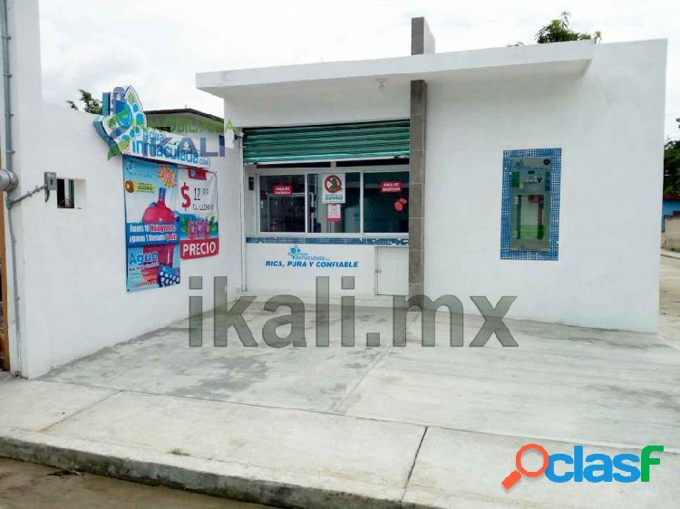 vendo local comercial colonia Azteca de Tihuatlan Veracruz,