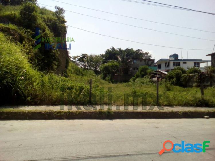 vendo terreno de 1500 m² en colonia Centro de Tuxpan
