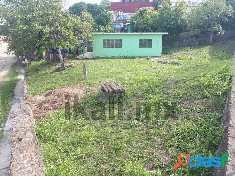 venta casa 2 recamaras con amplio terreno Tuxpan Veracruz,