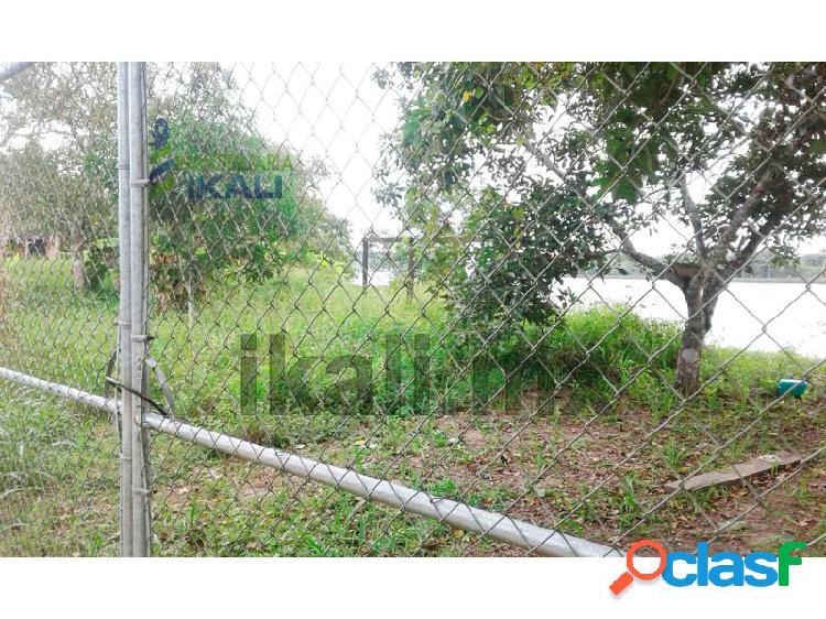 venta terreno frente al río Tuxpan Veracruz 2000 m², Isla