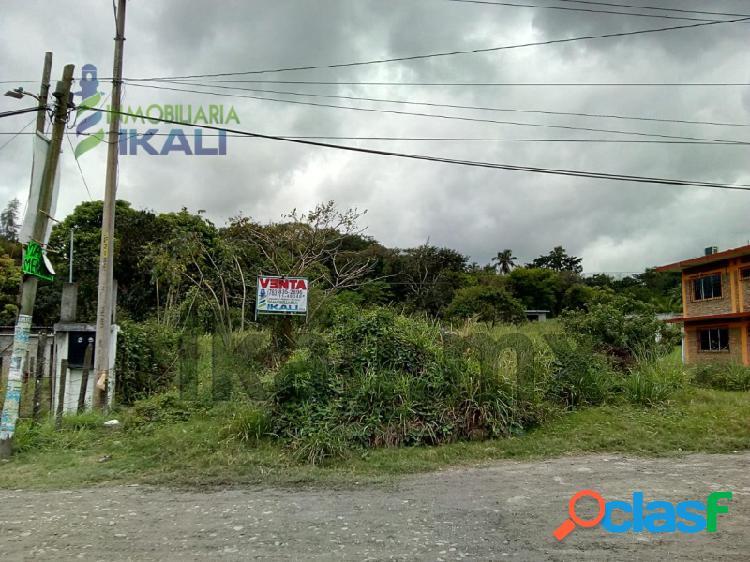 ventas de terrenos en tuxpan ver 2,324 m² en la col. CEAS,