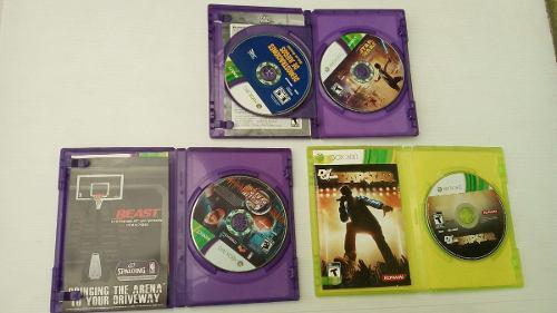 3 Juegos Para Xbox 360, Seminuevos En Su Caja Y Envio Gratis