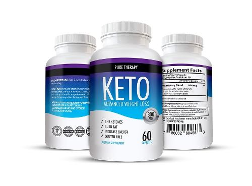 3 Keto Advanced Weight Loss Shark Tank Original Importado