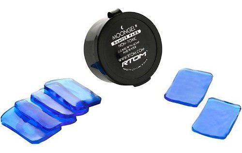 Ahogadores Sordinas En Gel Para Bateria Moongel Azul