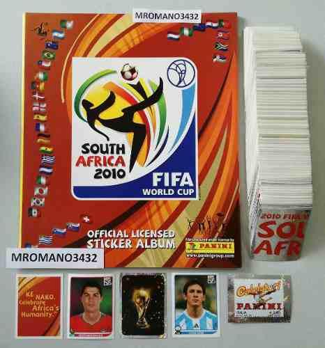 Album Panini Mundial Sudafrica 2010 Completo Sin Pegar.messi