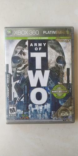 Army Of Two Xbox 360 - Juego Xbox 360 Envio Gratis