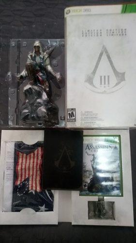 Assassin's Creed 3 Edicion Limitada Xbox 360 C/jgo De Ps3