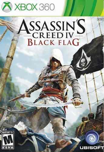 Assassin's Creed 4 Black Flag Xbox 360 Juego Nuevo Karzov *