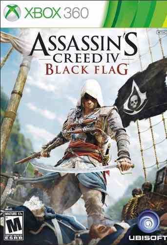 Assassins Creed 4 Iv Black Flag Xbox 360