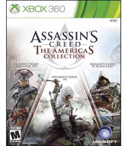 Assassins Creed Americas Collection Xbox 360 Nuevo