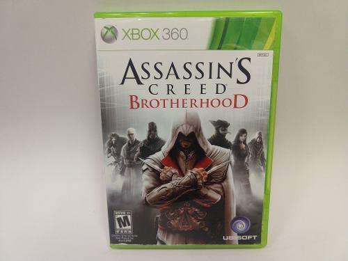 Assassins Creed Brotherhood Xbox 360 Juegazo De Coleccion!!!