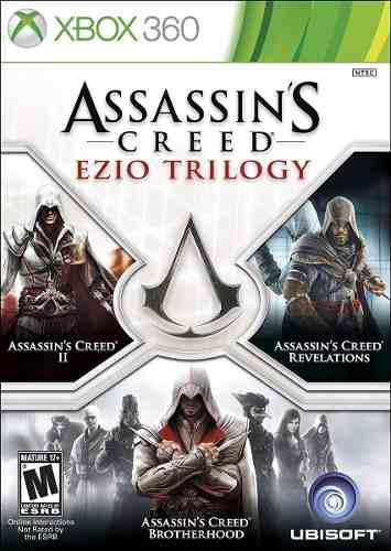 Assassin's Creed Ezio Trilogy Xbox 360 Juego Nuevo Karzov *