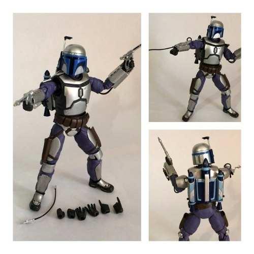 Bandai Jango Fett Sh Figuarts Star Wars Original Completo