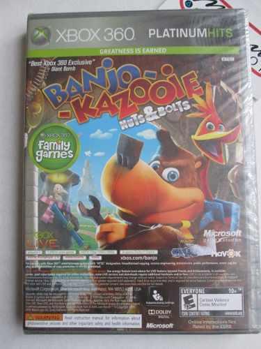 Banjo Kazooie Y Viva Piñata De Xbox 360 2 En 1 Nuevo