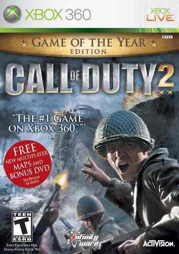 Call Of Duty 2 Game Of The Year Edition Xbox 360