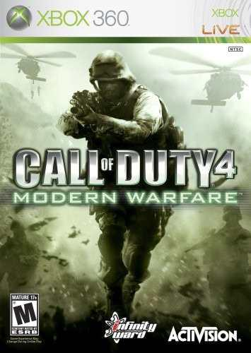 Call Of Duty 4 Modern Warfare Xbox 360 Blakhelmet C 1 1te
