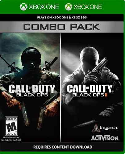 Call Of Duty Black Ops 1 & 2 Xbox 360/one Combo, Sellado