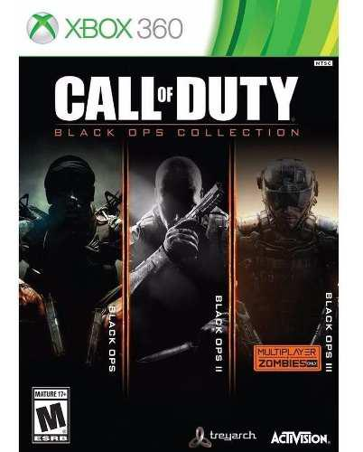 Call Of Duty Black Ops Collection 1 2 3 Xbox 360 Nuevo