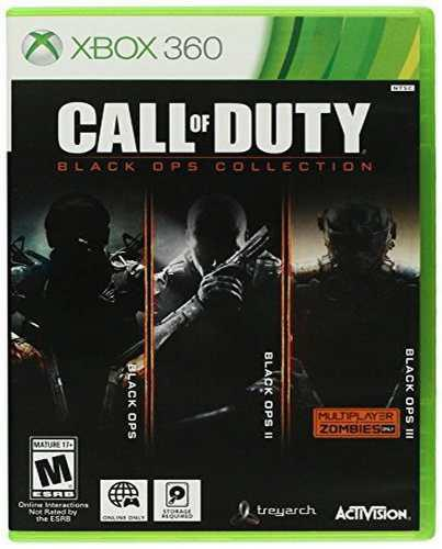 Call Of Duty Black Ops Collection 1,2,3 Xbox 360 Nuevo Juego