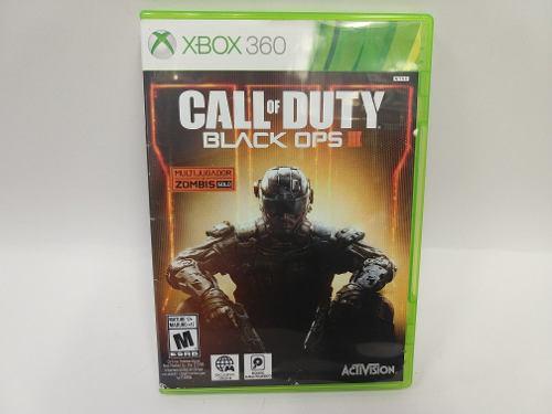 Call Of Duty Black Ops Iii Xbox 360 Garantizado Animate!