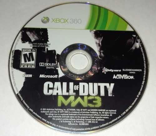 Call Of Duty Mw3 Modern Warfare 3 Xbox 360 Blakhelmet C