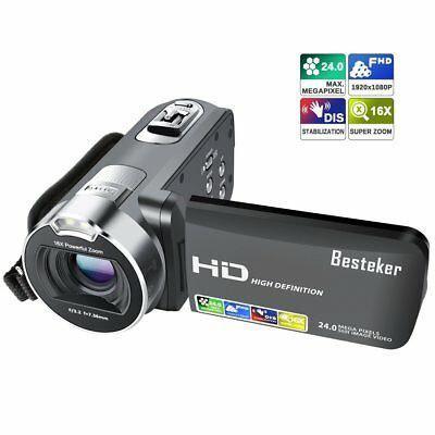 Cámara Videocámara Grabadora Besteker 1080p 24m 16x Hd