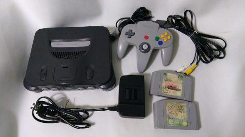 Consola Nintendo 64 Con 1 Control Cables Mario 64 Y Cruising