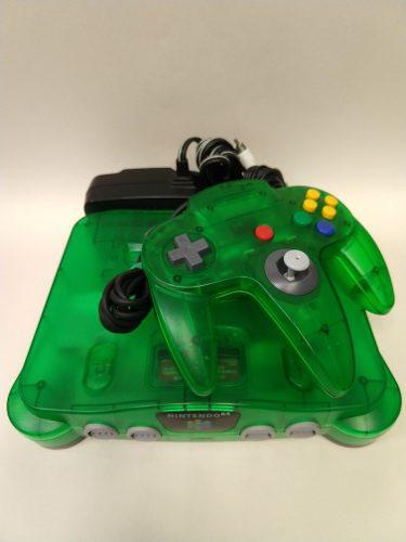 Consola Nintendo 64 Verde En Excelente Condicion Animate!!!